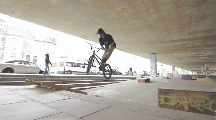 Jordan Godwin & Pete Sawyer Ride Amazing DIY Spot