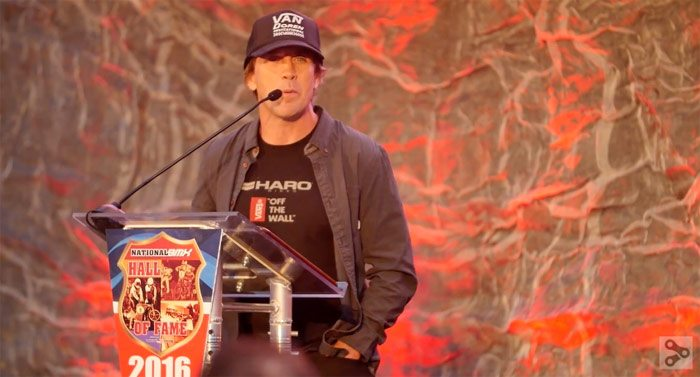 Dave Mirra and Dennis McCoy Inducted Into BMX Hall of Fame Video