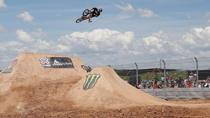 Kevin Peraza Wins X Games 2016 BMX Dirt