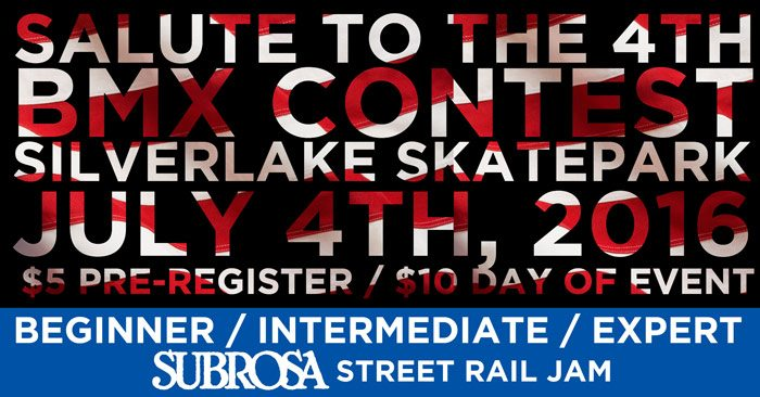 Salute To The 4th Contest Flyer