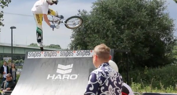 Old School Demo at BMX Cologne 2016