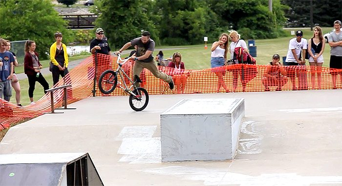 Salute to the 4th BMX Contest Highlights