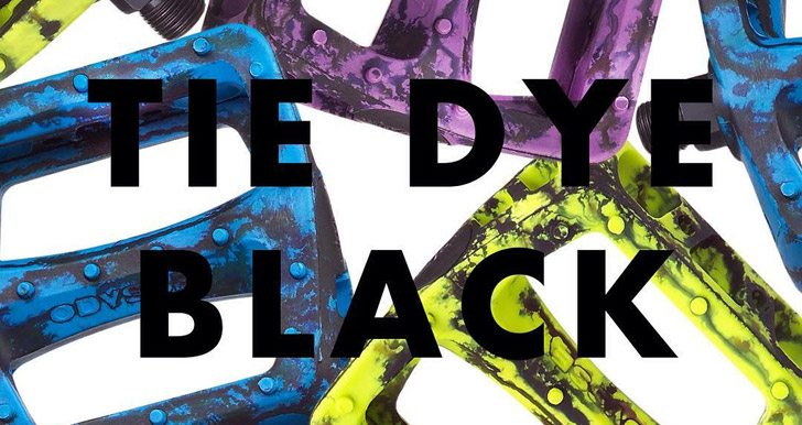 Odyssey BMX – Tie Dye Black Twisted PC Pedals