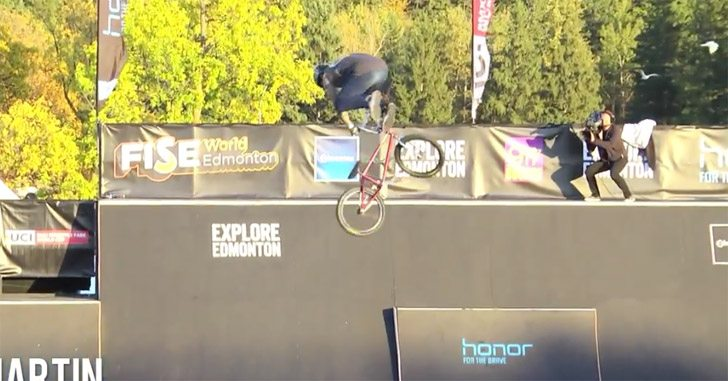 FISE Edmonton – BMX Park Finals Highlights