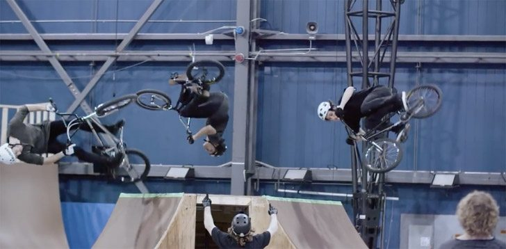 BMX In the Cirque du Soleil?