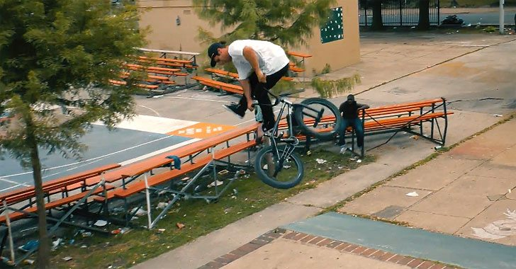 Kink BMX – Tony Hamlin Goes Nuts