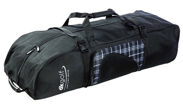 dk-golf-bag-black-plaid-bmx-travel-bag-closed