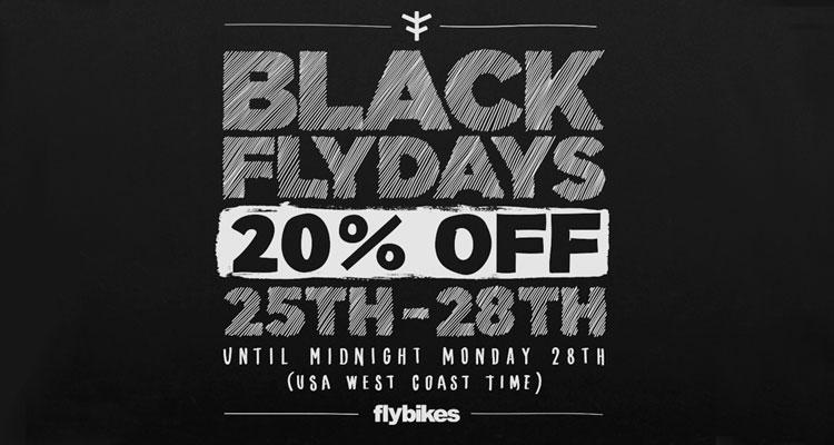 "Flybikes – ""Black Flydays"" Sale"