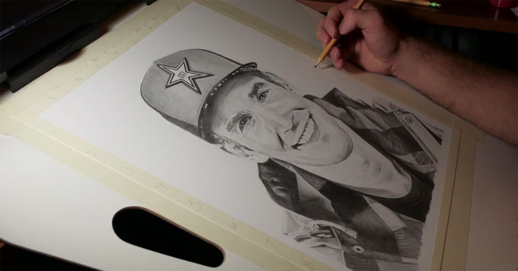 Drawing Chris Doyle