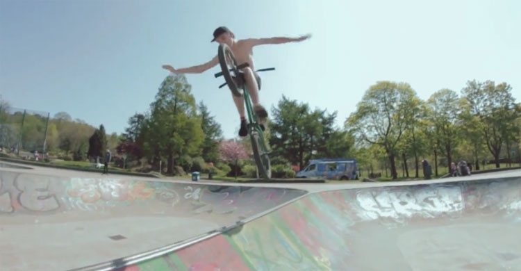 Odyssey X Foundation BMX – Olly Rendle 2017 Video