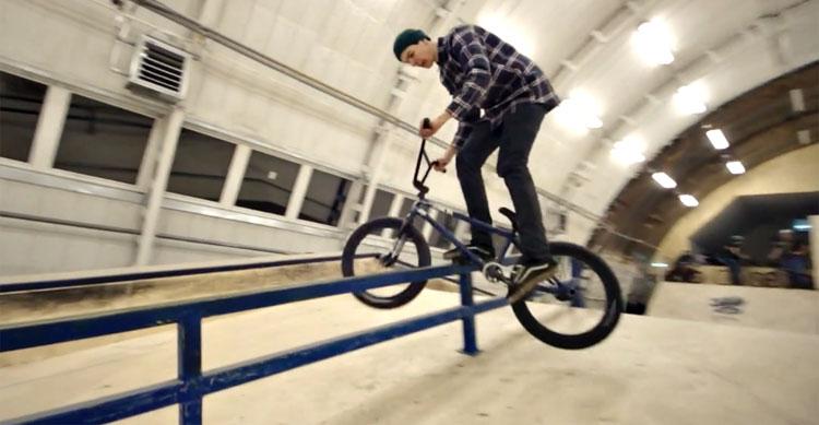 Par BMX – Janis Bauska at Valga Skatehall