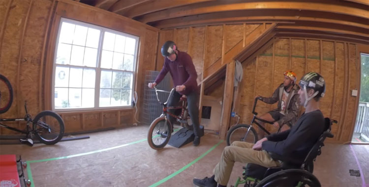 Scotty Cranmer's Attic Obstacle Course