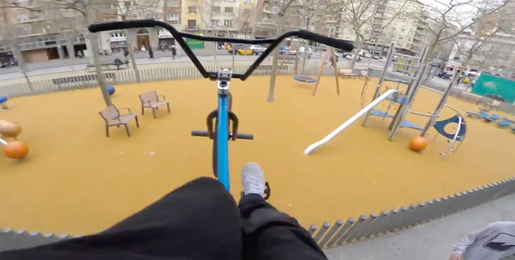Billy Perry – BMX Redemption In Barcelona