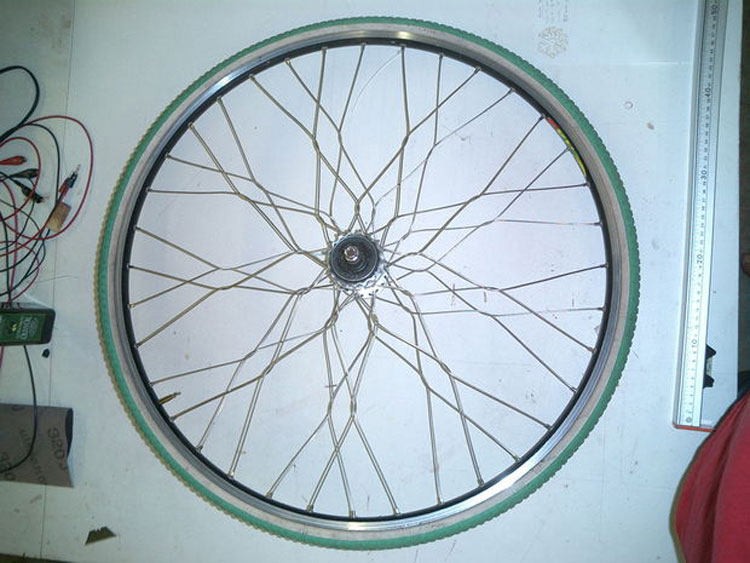 How To Build a BMX Wheel