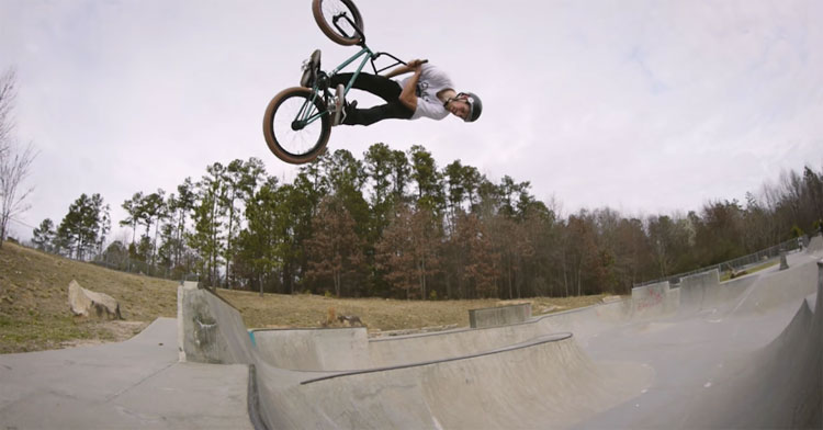 Dan Foley – Training For Vans BMX Pro Cup