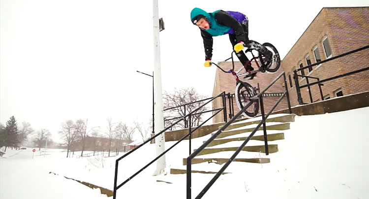 Madera – Erik Elstran and the Most Creatively Edited BMX Edit Ever?
