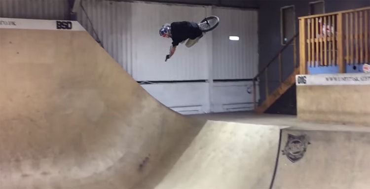 Some BMX In Hall 1 At Unit 23 Skatepark