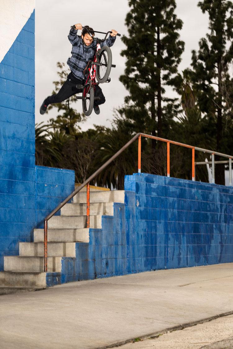 Augie Simoncini On Fiend BMX Pro Team