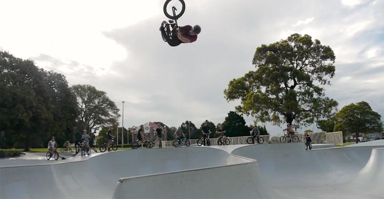 Crazy Five Dock Bowl Session