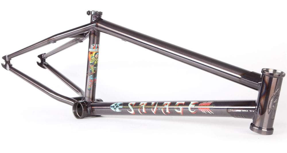 Fit Bike Co. Savage Frame Justin Spriet BMX