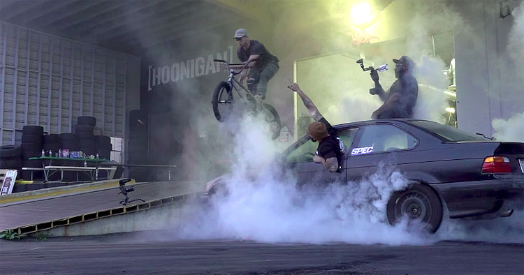 The Hoonigans – Burnouts and BMX