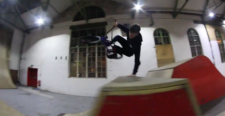 Kaine Mitchell & Sam Jones at Creation Skatepark
