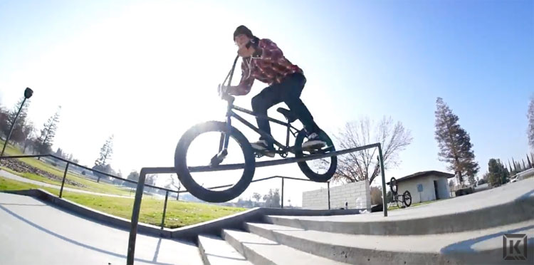 Kink BMX – Mike Garcia Spring 2017 Video