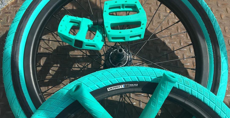 Sneak Peek: Merritt BMX - Tiffany Blue Colorway