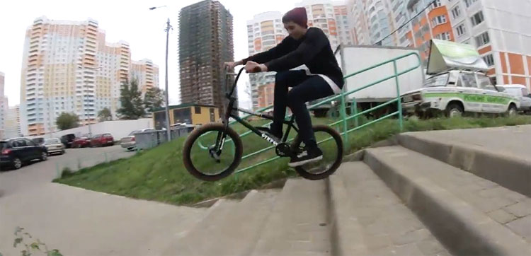 Stress BMX – Pavel Parfenchuk 2017 Video