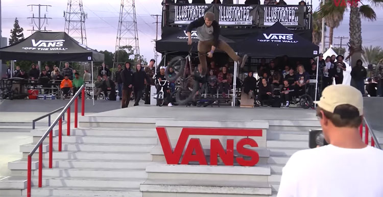 Vans BMX Street Invitational 2017 - Results + Highlights