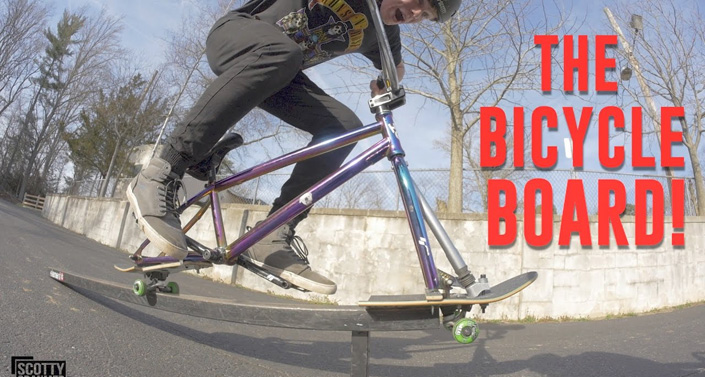 The Bicycle Skateboard