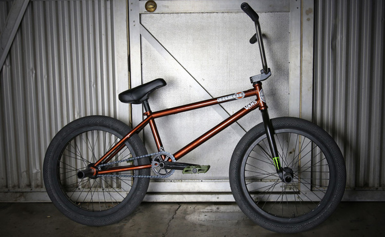 Cult Dakota Roche BMX Bike Check 2017 Spring