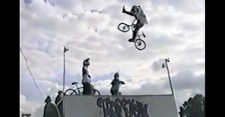 "Dave Mirra ""Chasing The View Off The Cliff"" Section (1994)"