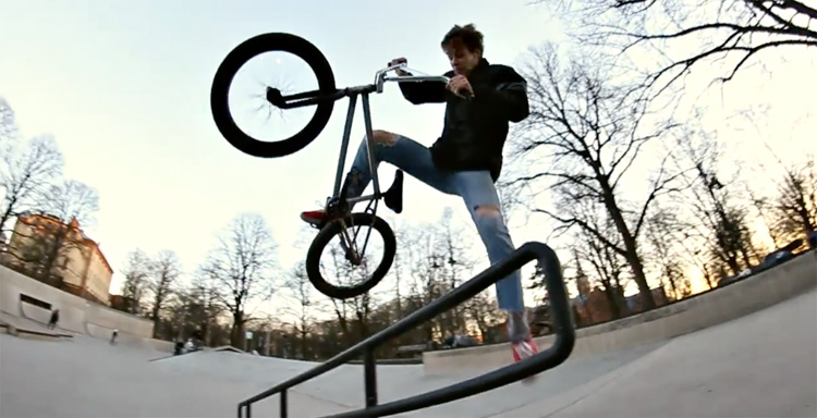 Cult x Par BMX – Karlis Leitis Spring Samurai