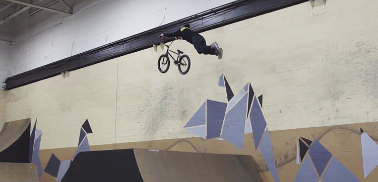 Kink BMX – 14 Year Old Jayden Mucha Is A Ramp Slayer