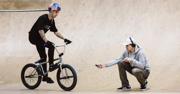 Red Bull – Kriss Kyle: Sounds of Unit 23 Skatepark