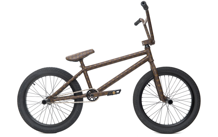 Nigel Sylvester Louis Vuitton BMX bike