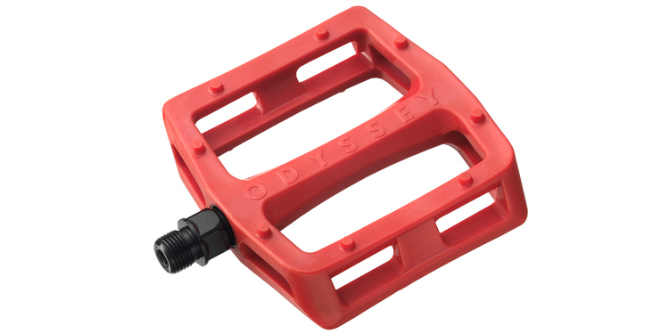 Odyssey BMX – Red Grandstand Pedals