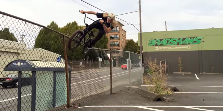 BMX In Portland with Reed Stark and David Grant