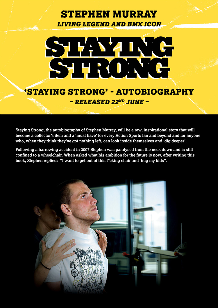 Stephen Murray Staying Strong Autobiography