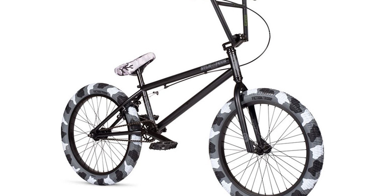 Stolen X Fiction BMX Camo Complete Bike