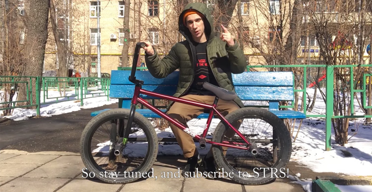 Max Bespaliy Bike Check – 6 Pegs?