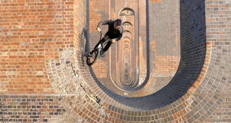 Tall Order – 50 Half Pipes In A Row