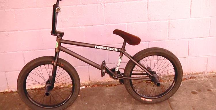Augie Simoncini Fiend Reynolds Bike Build