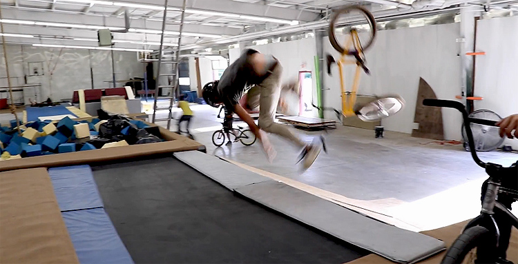 Spencer Foresman – Riding In An Abandoned Gymnastics Gym
