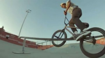 Courage Adams BMX video