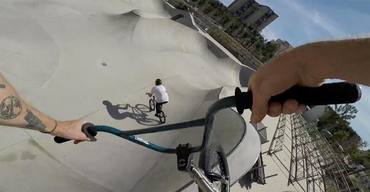 Greg Illingworth – Vans BMX Pro Cup Malaga Practice POV