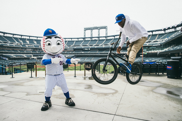 Nigel Sylvester New Era New York Mets Collaboration