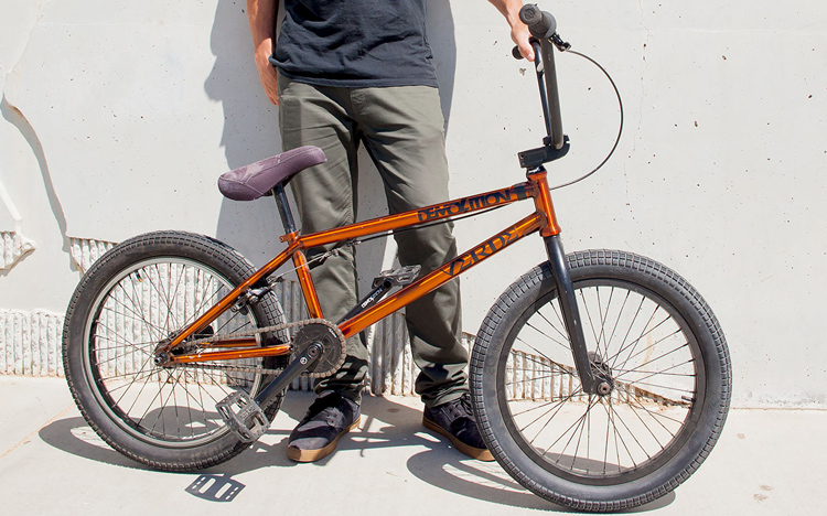 "Demolition Parts Ryan ""Biz"" Jordan Bike Check BMX"