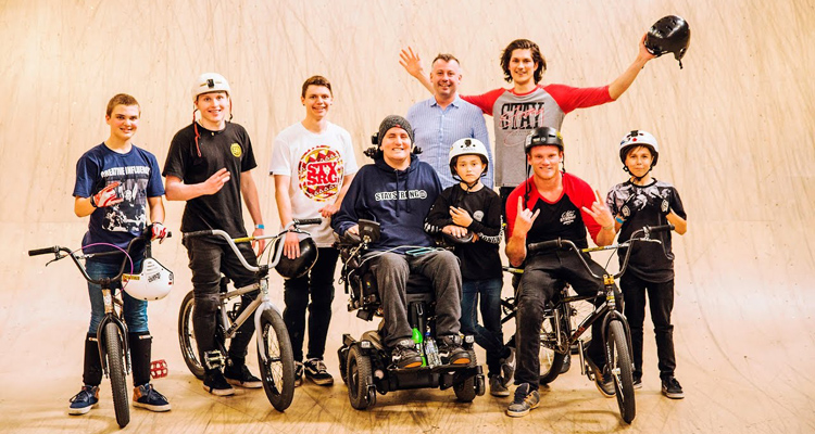Staying Strong – BMX Session at Corby with Seth Murray and Joe Baddeley
